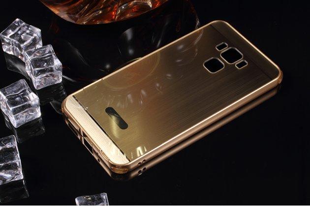 Фирменная металлическая задняя панель-крышка-накладка из тончайшего облегченного авиационного алюминия для ASUS ZenFone 3 Max ZC553KL 5.5 золотая