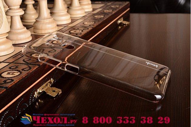 """Фирменная задняя панель-крышка-накладка из тончайшего и прочного пластика для ASUS ZenFone 3 Max ZC553KL 5.5"""" прозрачная"""