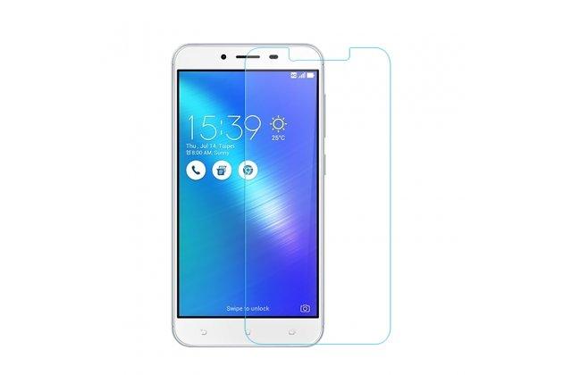 """Фирменное защитное закалённое противоударное стекло премиум-класса из качественного японского материала с олеофобным покрытием для телефона ASUS ZenFone 3 Max ZC553KL 5.5"""""""