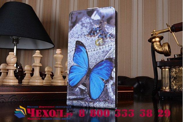 """Фирменный уникальный необычный чехол-флип для ASUS ZenFone 3 Max ZC553KL 5.5"""" """"тематика Бабочки"""""""