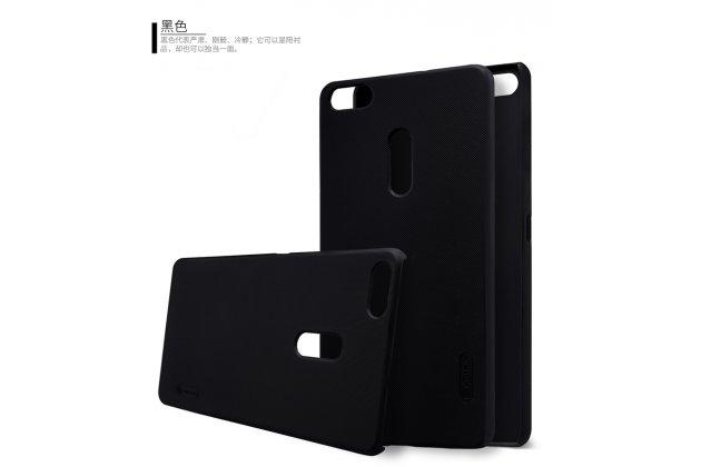 Фирменная задняя панель-крышка-накладка из тончайшего и прочного пластика для ASUS ZenFone 3 Ultra ZU680KL 6.8 черная