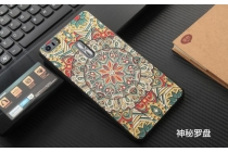 Фирменная уникальная задняя панель-крышка-накладка из тончайшего силикона для ASUS ZenFone 3 Ultra ZU680KL 6.8 с объёмным 3D рисунком тематика эклектические узоры
