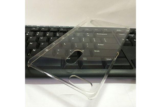 Фирменная ультра-тонкая пластиковая задняя панель-чехол-накладка для ASUS ZenFone 3 Ultra ZU680KL 6.8 прозрачная