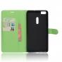 Фирменный чехол-книжка из качественной импортной кожи с подставкой застёжкой и визитницей для ASUS ZenFone 3 U..