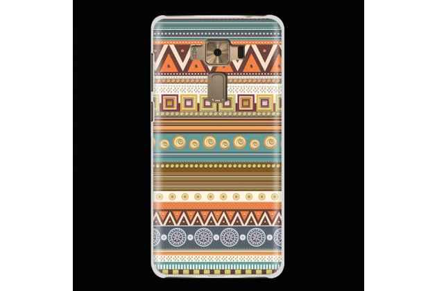 Фирменная необычная из легчайшего и тончайшего пластика задняя панель-чехол-накладка для ASUS ZenFone 3 / Zenfone 3 Neo ZE520KL 5.2 тематика Эклектические узоры