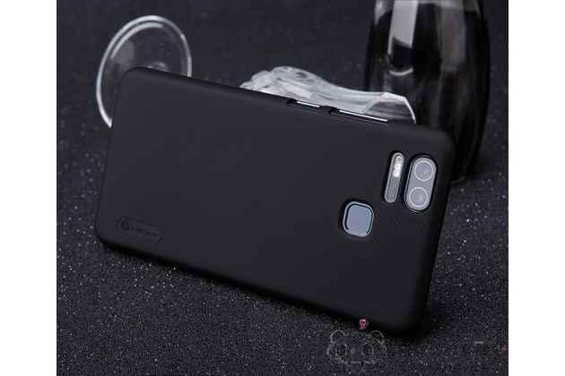 Фирменная ультра-тонкая пластиковая задняя панель-чехол-накладка для Asus ZenFone 3 Zoom ZE553KL 5.5 (Z01HDA) черная