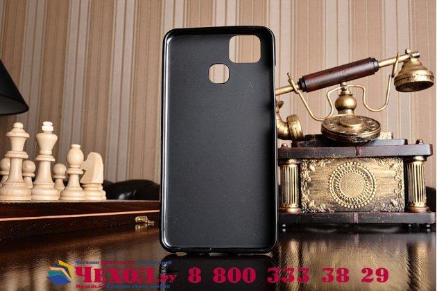 """Фирменная ультра-тонкая полимерная из мягкого качественного силикона задняя панель-чехол-накладка для Asus ZenFone 3 Zoom ZE553KL 5.5"""" черная"""