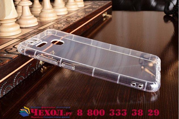 """Фирменная ультра-тонкая полимерная из мягкого качественного силикона задняя панель-чехол-накладка для  Asus ZenFone 3 Zoom ZE553KL 5.5"""" прозрачная"""