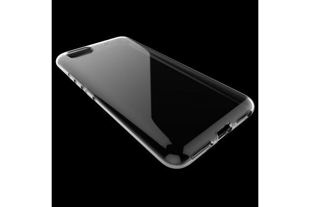 Фирменная ультра-тонкая полимерная из мягкого качественного силикона задняя панель-чехол-накладка для Asus Zenfone 3S Max ZC521TL 5.2 прозрачная