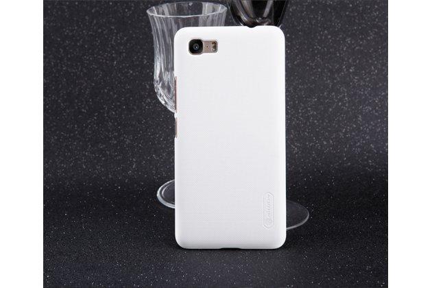 Фирменная задняя панель-крышка-накладка из тончайшего и прочного пластика для Asus Zenfone 3S Max ZC521TL 5.2 белая