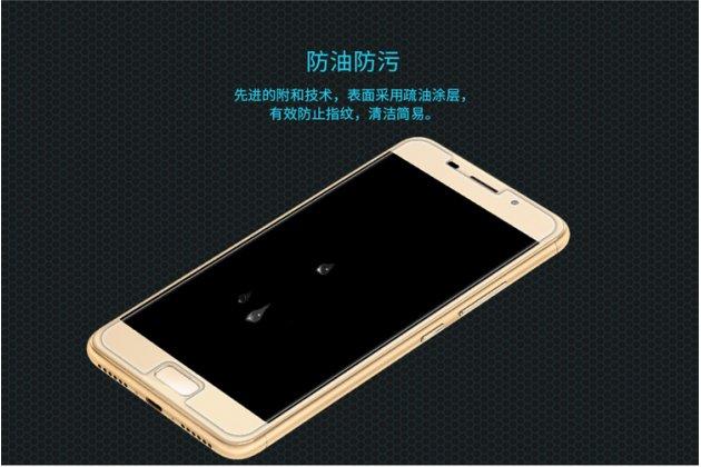 Фирменное защитное закалённое противоударное стекло премиум-класса из качественного японского материала с олеофобным покрытием для телефона Asus Zenfone 3S Max ZC521TL 5.2