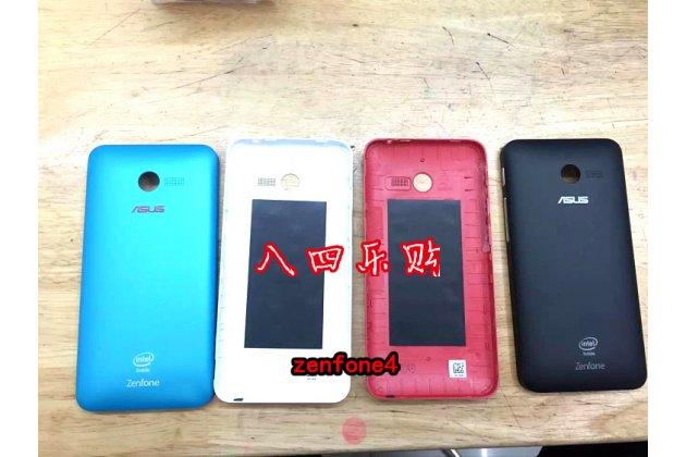 Родная оригинальная задняя крышка-панель которая шла в комплекте для Asus Zenfone 4 4.0 A400CG красная