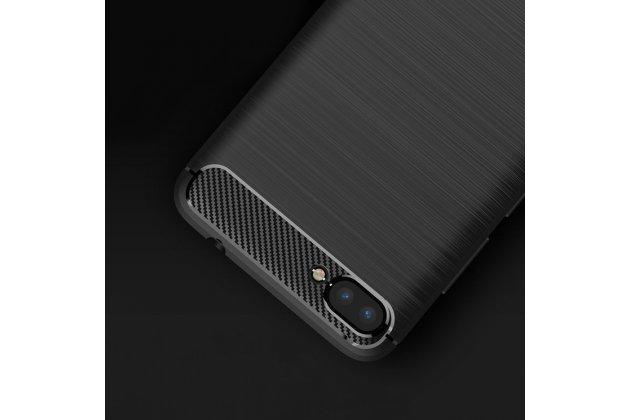 """Фирменная ультра-тонкая полимерная из мягкого качественного силикона задняя панель-чехол-накладка для ASUS ZenFone 4 Max ZC520KL (A006/4A032RU) 5.2"""" / Android 7.0 черная"""