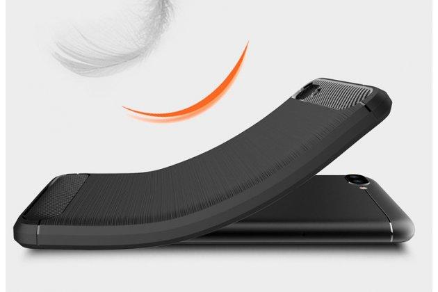 """Фирменная ультра-тонкая полимерная из мягкого качественного силикона задняя панель-чехол-накладка для ASUS ZenFone 4 Max ZC520KL (A006/4A032RU) 5.2"""" / Android 7.0 серая"""