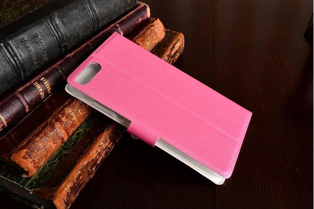 Фирменный роскошный чехол-книжка безумно красивый декорированный бусинками и кристаликами на Asus Zenfone 4 Max ZC554KL 5.5 розовый