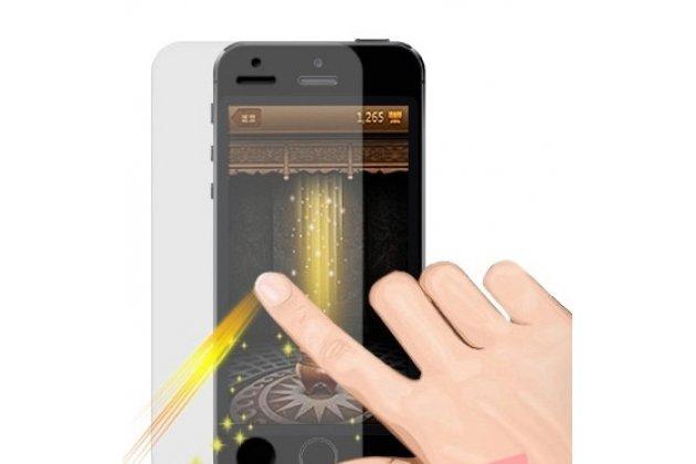Фирменная оригинальная защитная пленка для телефона Asus Zenfone 4 Max ZC554KL 5.5 глянцевая