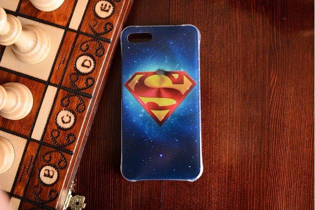 Фирменная ультра-тонкая полимерная из мягкого качественного силикона задняя панель-чехол-накладка для Asus Zenfone 4 Max ZC554KL 5.5 супермен