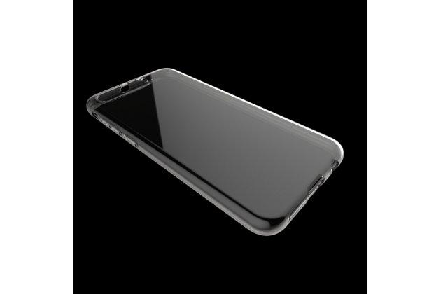 Фирменная ультра-тонкая полимерная из мягкого качественного силикона задняя панель-чехол-накладка для ASUS ZenFone 4 Pro ZS551KL прозрачная