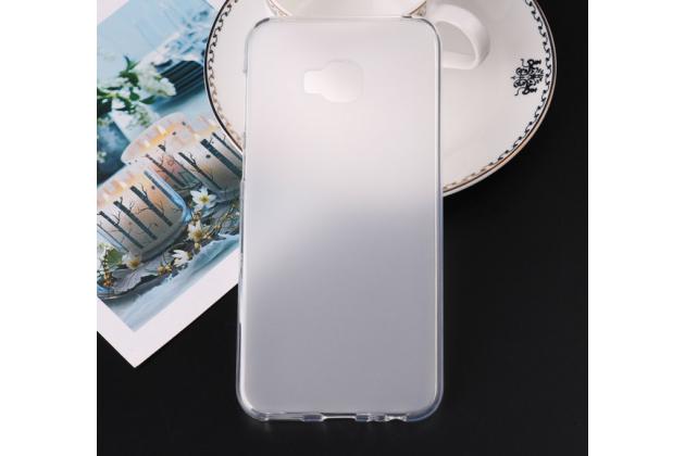 Фирменная ультра-тонкая полимерная из мягкого качественного силикона задняя панель-чехол-накладка для ASUS ZenFone 4 Selfie Pro ZD552KL белая