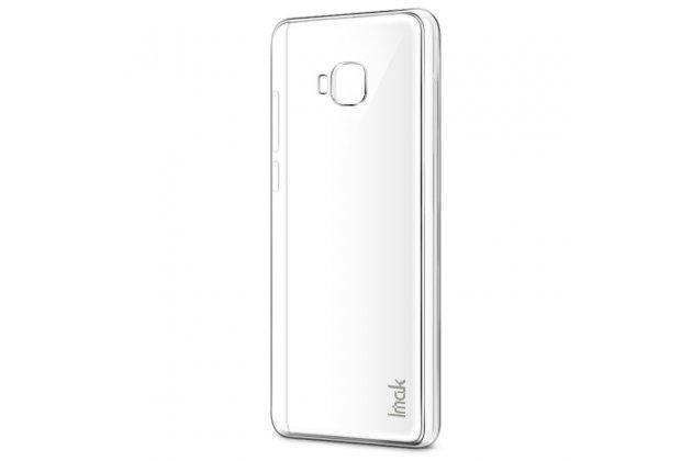 Фирменная ультра-тонкая пластиковая задняя панель-чехол-накладка для ASUS ZenFone 4 Selfie Pro ZD552KL прозрачная