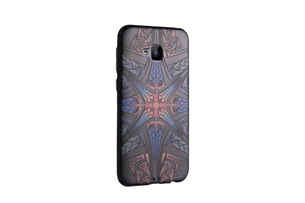 Фирменная роскошная задняя панель-чехол-накладка  из мягкого силикона с безумно красивым расписным 3D рисунком на ASUS ZenFone 4 Selfie ZD553KL тематика Магическая звезда