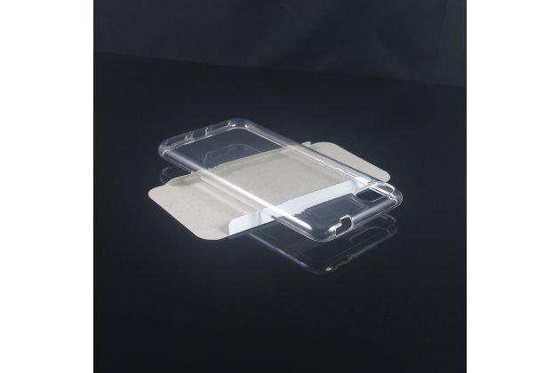 Фирменная ультра-тонкая полимерная из мягкого качественного силикона задняя панель-чехол-накладка для ASUS ZenFone 4 ZE554KL прозрачная