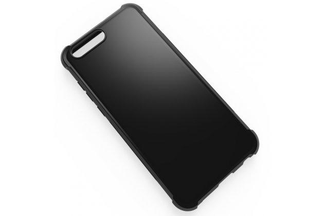 Фирменная ультра-тонкая полимерная из мягкого качественного силикона задняя панель-чехол-накладка для ASUS ZenFone 4 ZE554KL черная