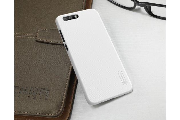 Фирменная задняя панель-крышка-накладка из тончайшего и прочного пластика для ASUS ZenFone 4 ZE554KL белая