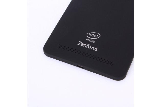 Родная оригинальная задняя крышка-панель которая шла в комплекте для ASUS Zenfone 6 A600CG/A601CG черная