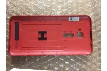 Родная оригинальная задняя крышка-панель которая шла в комплекте для Чехлы для Asus Zenfone Go 4.5  ZB452KG (X014D) красного цвета