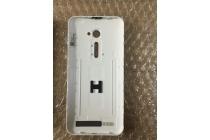 Родная оригинальная задняя крышка-панель которая шла в комплекте для Asus Zenfone Go 4.5  ZB452KG (X014D) белого цвета