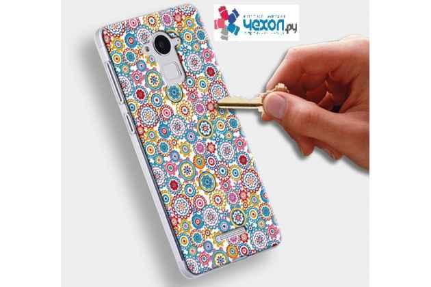 Фирменная роскошная задняя панель-чехол-накладка из мягкого силикона с объемным  3D изображением  на ASUS ZenFone Go TV ZB551KL/G550KL c с безумно красивым рисунком  Цветочный рай