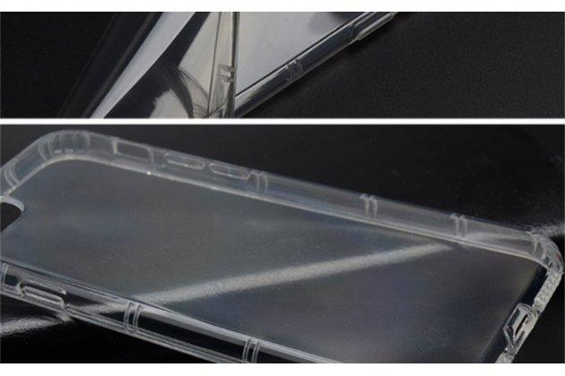 Фирменная ультра-тонкая полимерная из мягкого качественного силикона задняя панель-чехол-накладка для ASUS ZenFone Live ZB501KL прозрачная