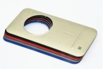 Родная оригинальная задняя крышка-панель которая шла в комплекте для  ASUS ZenFone Zoom ZX551ML / ZX550ML золотая