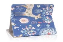 Фирменный эксклюзивный необычный чехол-футляр для Asus ZenPad S 8.0 Z580CA/Z580C  тематика Олени в цветах