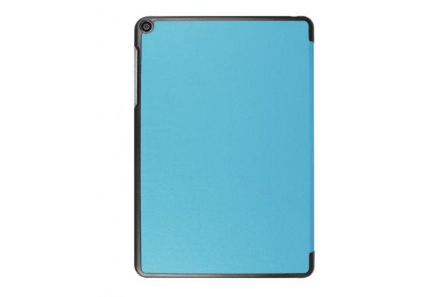 """Фирменный умный чехол самый тонкий в мире для Asus ZenPad Z10 ZT500KL"""" iL Sottile голубой пластиковый Италия"""