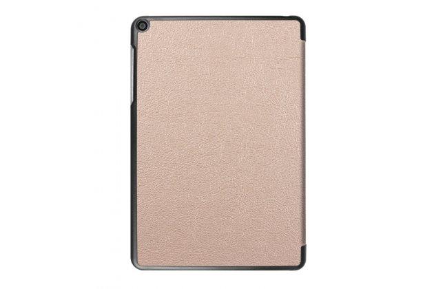 """Фирменный умный чехол самый тонкий в мире для Asus ZenPad Z10 ZT500KL"""" iL Sottile золотой пластиковый Италия"""
