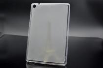 Фирменная ультра-тонкая полимерная из мягкого качественного силикона задняя панель-чехол-накладка для ASUS ZenPad Z8 Z581KL 7.9 белая