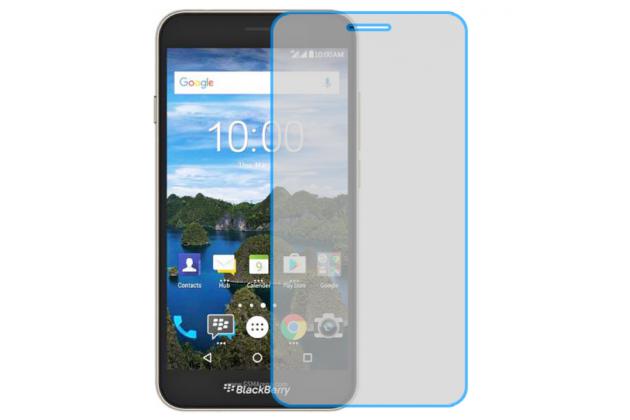 Фирменная оригинальная защитная пленка для телефона BlackBerry Aurora / Neon глянцевая