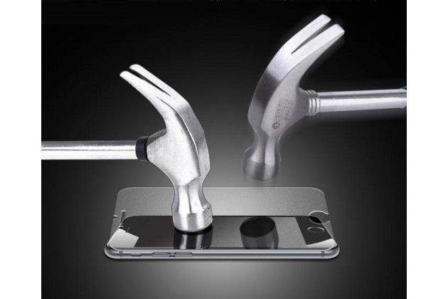 Фирменное защитное закалённое противоударное стекло премиум-класса из качественного японского материала с олеофобным покрытием для телефона BlackBerry Aurora