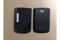 Родная оригинальная задняя крышка-панель которая шла в комплекте для BlackBerry Bolt 9700 черная