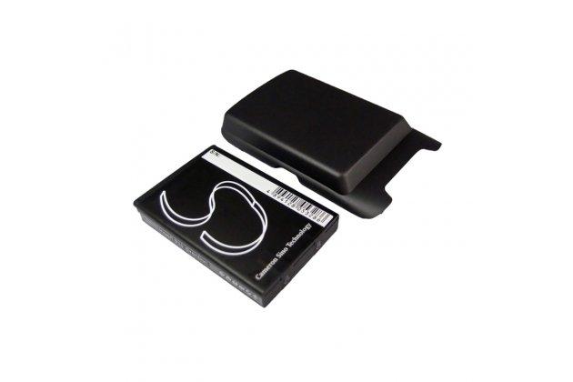 Усиленная батарея-аккумулятор большой повышенной ёмкости 3000 mAh для телефона BlackBerry Curve 9380 с черной крышкой в комплекте + гарантия
