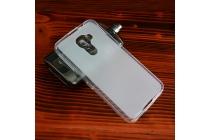 Фирменная ультра-тонкая полимерная из мягкого качественного силикона задняя панель-чехол-накладка для Blackberry DTEK60 белая