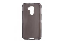 Фирменная ультра-тонкая полимерная из мягкого качественного силикона задняя панель-чехол-накладка для Blackberry DTEK60 черная