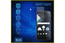 Фирменное защитное закалённое противоударное стекло премиум-класса из качественного японского материала с олеофобным покрытием для телефона Blackberry DTEK60