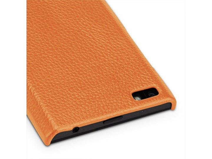 Фирменная премиальная элитная крышка-накладка из тончайшего прочного пластика и качественной импортной кожи дл..