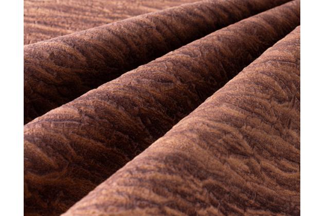 Фирменная роскошная задняя панель-крышка обтянутая импортной кожей для Huawei Mate 20 Pro / Mate 20 RS 6.39 с дизайном под дерево коричневая