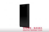 Фирменная ультра-тонкая пластиковая задняя панель-чехол-накладка для BlackBerry Priv черная