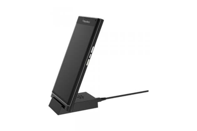 Фирменное зарядное устройство/док-станция/подставка для BlackBerry Priv/ BlackBerry Passport Q30 пластиковая черная