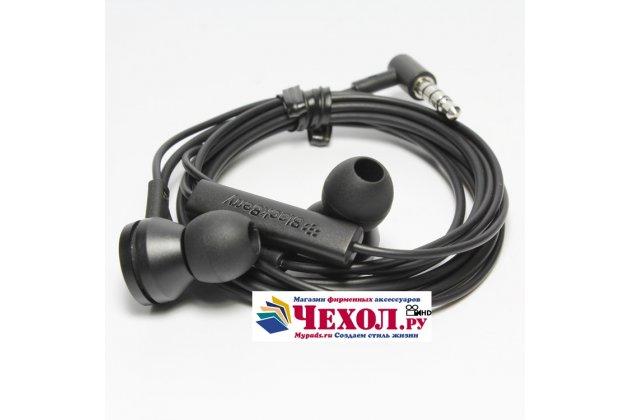 Фирменные оригинальные наушники-вкладыши BlackBerry WS-510 Headset с микрофоном и переключателем песен для BlackBerry Priv
